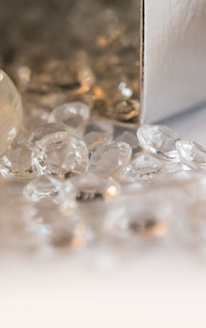 Decorative Wedding Crystals