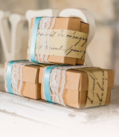 Unique Favor Wrapping Kits