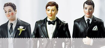 Groom Cake Toppers