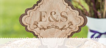 Monogram Wedding Theme
