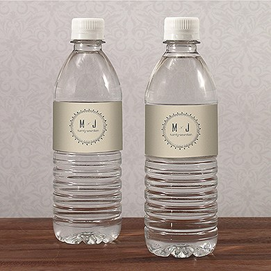 Free Spirit Water Bottle Label