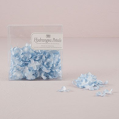 Silk Wedding Ceremony Hydrangea Petal