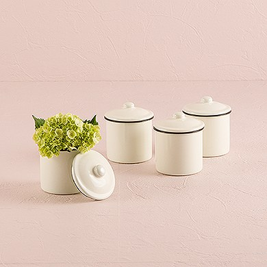 Decorative Mini Enamel Container