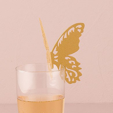 Laser Expressions Butterfly Die Cut Card – Shimmer Paper