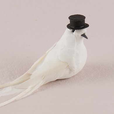 Novelty White Wedding Doves