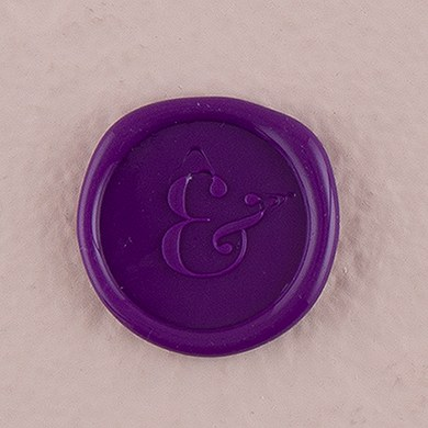 Ampersand Flexible Wax Envelope Seals