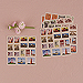 Global Destinations Postage Stamp Sticker Assortment