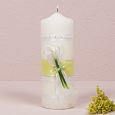 Bridal Beauty Calla Lily Candles