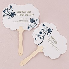 Floral Orchestra Personalized Hand Fan