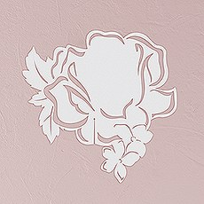 Laser Expressions Floral Dreams Die Cut Card