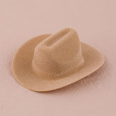 Small Cowboy Hat Wedding Favor Decoration