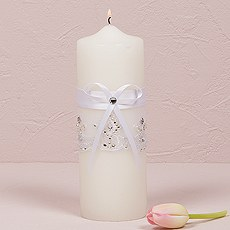 Beverly Clark Royal Lace Collection Unity Candle