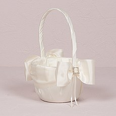 Beverly Clark Duchess Collection Flower Girl Basket