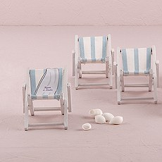 Miniature Folding Beach Chairs