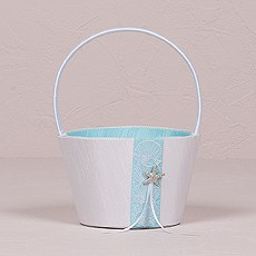Seaside Allure Flower Girl Basket
