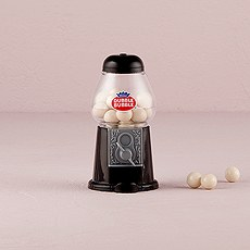 Mini Classic Black Gumball Dispenser
