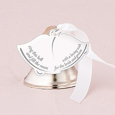 Bell Shaped Favor Card with Poem
