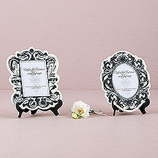 Baroque Paper Frames with Table Easel - Large