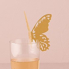 Laser Expressions Butterfly Die Cut Card Shimmer Paper