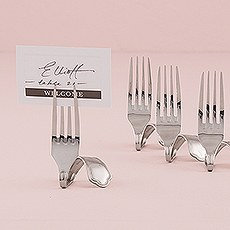 Twisted Fork Place Card Holders