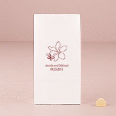 Floral Butterfly Self-Standing Paper Goodie Bag