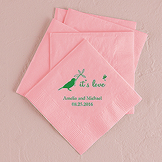 Whimsical Garden Printed Napkins