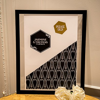 Black and Gold Opulence Signature Certificate Series