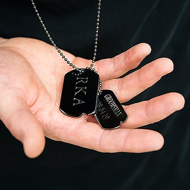 Men's Dog Tag Necklace