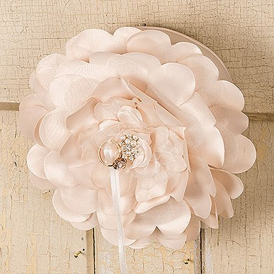 Sensational Floral Ring Pillow