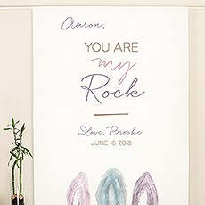 Agate Allure Personalized Premium Canvas Backdrop