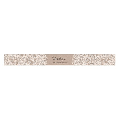 Lace Medley Paper Ribbon Wrap