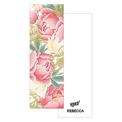 Modern Floral Small Book Mark