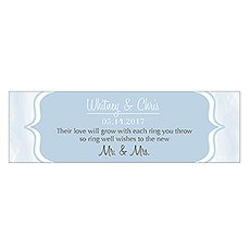 Bracket Design Small Rectangular Favor Tag