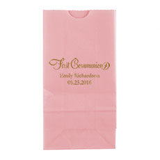 First Communion Block Bottom Gusset Paper Goodie Bags