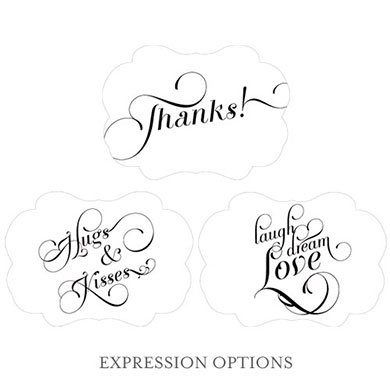 Expressions Hand Fan Wedding Favor