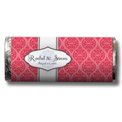 Moroccan Chocolate Bar Wedding Favor
