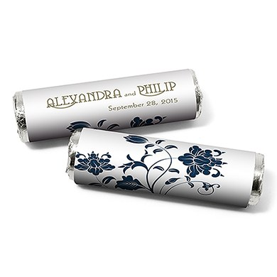 Floral Orchestra Personzlied Wedding Candy Roll Wrap