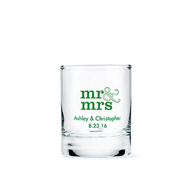 Votive Holder / Short Shot Glass Printed