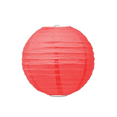 Small Paper Lantern Red