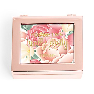 Small Modern Personalized Jewelry Box - Modern Floral Print