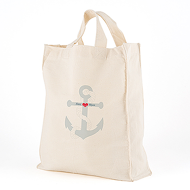 Anchor Personalized 100 per cent Cotton Twill Tote Bag