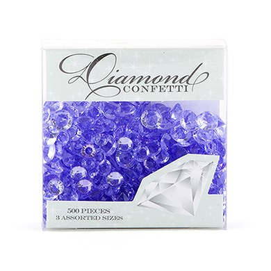 Acrylic Diamond Shaped Confetti