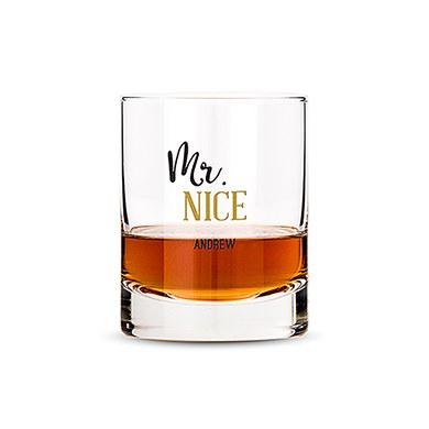 Classic Rocks Glass - Mr. Nice Printing