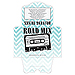 Road Mix Vintage Cassette Diecut Self Closing CD Sleeve