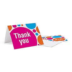 Retro Pop Thank You Card