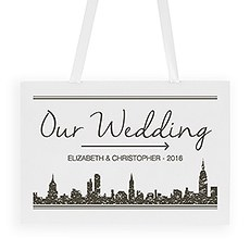 City Style Directional Poster