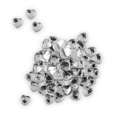 Heart Jewels in Diamond Clear