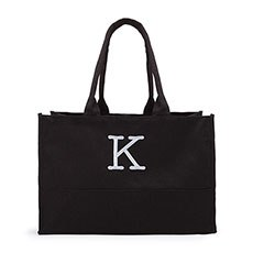 City Tote / Solid Box Tote - Black