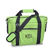 Personalized 12 Pack Green Beer Cooler Bag