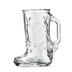 Boot Glass Beer Stein